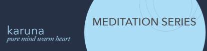 Meditation Program to Heal Trauma